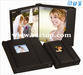 Wedding photo album with crystal/magazine/PU cover
