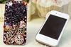 Fashionable Case for Iphone 5, Swarovski Rhinestones