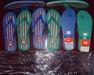 White dove slippers sandals 811 pvc pe plastic light