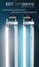 CCFL T8 Tube, energy saving fluorescent T8 tube