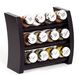Kitchen accessories: wooden spice rack and carousel from Poland