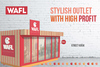 Lucrative Fast Food Franchise Opportunity from WAFL: desserts, sandwic