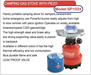 PARSIRAN 190gr Piercable Gas Cartridge