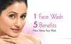 Valinta Insta-5 skin whitening face wash.