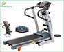 Electric motorized home treadmill