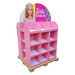 Cardboard display stands, pallet displays, display shelves