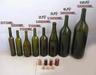 Glass jars glass candlestick glass, red wine glass bottle ice bottle