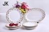 Bone china dinnerware 46 pcs