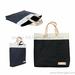 Fashion design washable kraft paper tote bag shopping bag