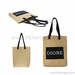 Fashion design washable kraft paper tote bag shopping bag