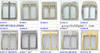 2012 new zinc alloy handbag buckle accessory