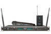 Sell UHF synthesized diversity dual channel wireless microphone