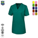 V-neck Hospital tops medical scrubs