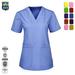 V-neck Hospital tops medical scrubs