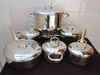 Stainless Cookware set-12pcs/top brand