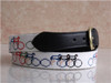 Fashion Needlepoint Leather Belts, buckle belts, men's belts