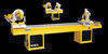 AUTOMATIC PVC and ALUMINIUM PROFILES 1 HEAD MITRESAW MACHINE