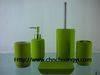 Ceramic rubber coating bathroom set