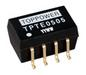 SMD DC-DC Converter: TPET - 1W  - 1KVDC Isolation - Single Output
