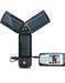 Solar Energy Torch w/mobile charger