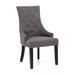 Nailhead upholstered dining room chairs