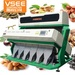 Color sorter for rice, grain, nuts, tea, platics, Dehydrated vegetables