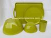 Factory OEM 100% melamine dinneware tableware plate bowl tray cup