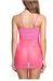 Women Lace Babydoll Lingerie Mesh Chemise Nightie V-Neck Sleepwear