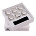 Food Grade FDA free With MSDS gold 304 silver Stainless Steel Metal Ic