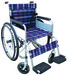 E-1 economic wheelchair, manual steel wheelchair for disable