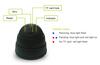 Coomatec DVRCam dome Plug and play DVR CCTV surveillance camera built