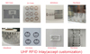 Small size 12x4x1.6mm Passive UHF Rfid Sticker Tags Anti Metal