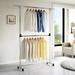 Moveable Plus coat rack