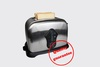New Arrival Household Stainless Steel 2 Slices Toaster Bread Toast Mac