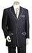 Design Suit with White Strip for Men