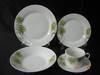 Square shape dinner set/coupe shape porcelain tableware/tableware