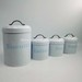 Kitchen Metal Coated Steel Tea Coffee Sugar Candy Storage Tin Can Cani