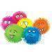 Flashing puffer ball, funny toy puffer ball, novelty puffer ball