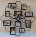 Exquisite Iron Crafts of Flower-shaped Photo Flower