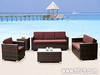 PE rattan furniture, outdoor furniture, dining room furniture