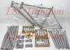 Titanium bicycle frame and part