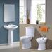 High Quality sanitary ware 3/set (two piece toilet, pedestal, bidet)