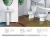 High Quality sanitary ware 3/set (two piece toilet, pedestal, bidet)
