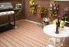 Factory price hollow wood plastic composite WPC decking/ WPC floor