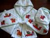 Towel, Bathrobe, Hooded towel, Bib, Kids robe