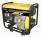 Portable gasoline and diesel generator