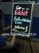 Sparkle LED neon writing board
