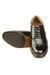 Metrogue Men'S Black Leather Shoes