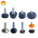 Plastic pipe end caps for furnitures/tube/pipes
