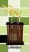 Modern bamboo bud vases